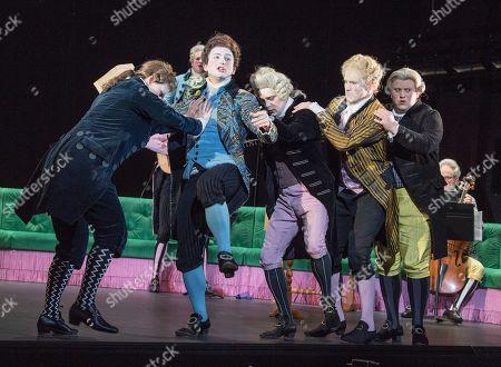 Editorial photo of 'Berenice' Opera performed at the Linbury Theatre, Royal Opera House, London, UK, 26 Mar 2019