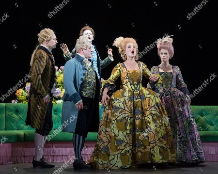 Editorial picture of 'Berenice' Opera performed at the Linbury Theatre, Royal Opera House, London, UK, 26 Mar 2019