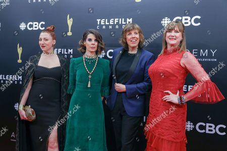 Carolyn Taylor, Meredith Macneill, Aurora Browne and Jennifer Whalen
