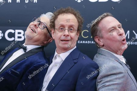 Stock Image of Dave Foley, Kevin McDonald and Scott Thompson