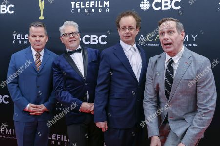 Bruce McCulloch, Dave Foley, Kevin McDonald and Scott Thompson