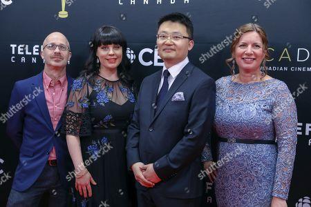 Patrick Carroll, Melissa James, Julie Keith and Leon Lee