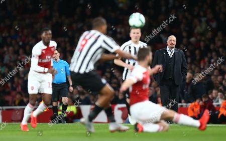 Rafael Benitez manager of Newcastle