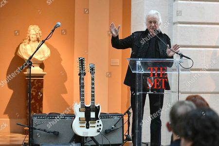 Stock Photo of Jimmy Page