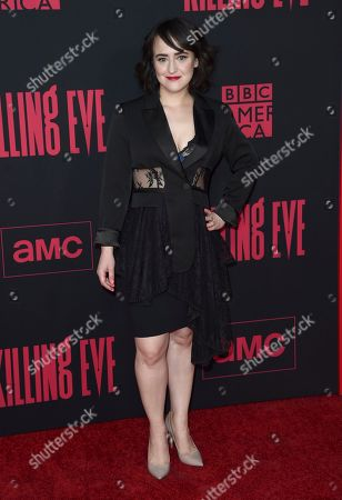 """Mara Wilson arrives at the season two premiere of """"Killing Eve"""", at ArcLight Hollywood in Los Angeles"""