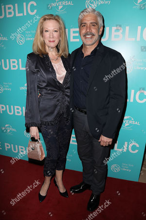Editorial image of 'The Public' film premiere, Arrivals, New York - 01 Apr 2019
