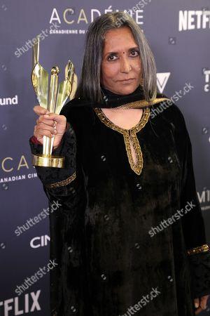 Deepa Mehta, Winner of Lifetime Achievement Award.