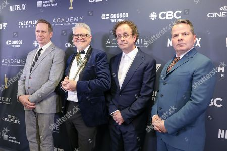 The Kids in The Hall; Scott Thompson, Dave Foley, Kevin McDonald, Bruce McCulloch. Winners of The Icon Award.