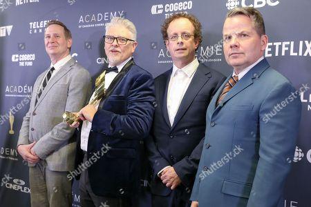 Editorial photo of Canadian Screen Awards, Press Room, Toronto, Canada - 31 Mar 2019