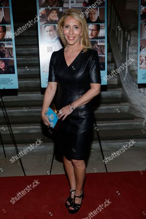 """Dana Bash attends the premiere of """"The Public"""" at the New York Public Library, in New York"""