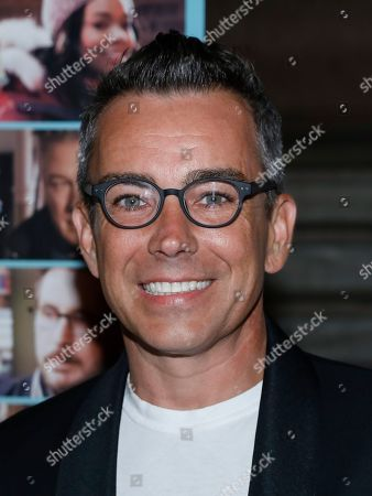 """Ray Bouderau attends the premiere of """"The Public"""" at the New York Public Library, in New York"""