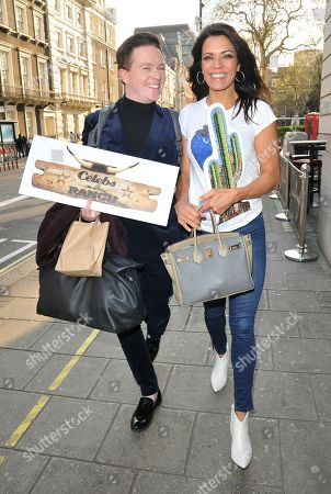 Stephen Bailey and Jenny Powell