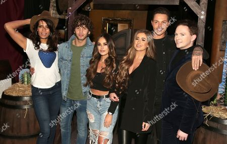 Jenny Powell, Eyal Booker, Courtney Green, Georgia Steel, Bobby Cole Norris and Stephen Bailey