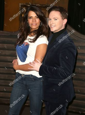 Jenny Powell and Stephen Bailey