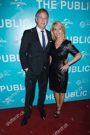 Spencer Garrett and Dana Bash