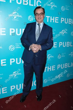 Editorial picture of 'The Public' film premiere, Arrivals, New York, USA - 01 Apr 2019