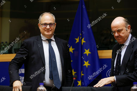 Editorial photo of 2018 European Central Bank Annual Report, Brussels, Belgium - 01 Apr 2019