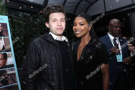 Nick Robinson and Gabrielle Union