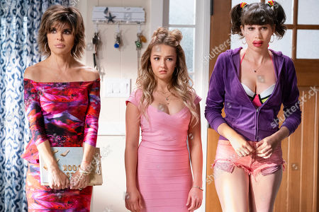 Stock Picture of Lisa Rinna as Loretta, Lexi Ainsworth as Tiffany and Tipper Newton as Sinnomin