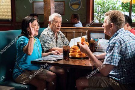 Karen Huie as Beth, Dana Lee as William and Michael Rapaport as Adam