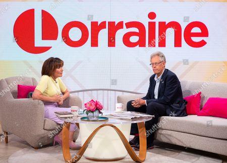 Lorraine Kelly and Nigel Dando