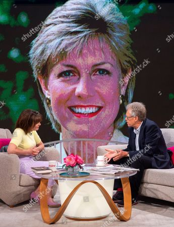 Stock Photo of Lorraine Kelly and Nigel Dando