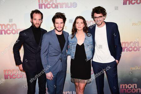 Benjamin Lavernhe, Francois Civil, Josephine Japy, Hugo Gelin