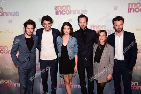 Editorial picture of 'Mon Inconnue' film premiere, Paris, France - 01 Apr 2019