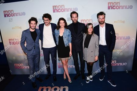 Editorial photo of 'Mon Inconnue' film premiere, Paris, France - 01 Apr 2019