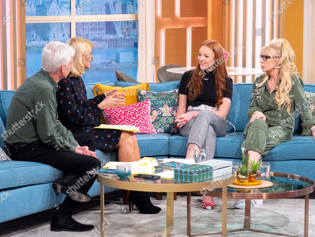 Phillip Schofield, Holly Willoughby, Harley Bird and Morwenna Banks