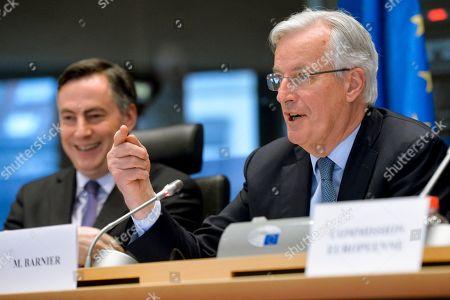 David McAllister, Michel Barnier