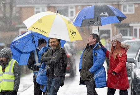 Editorial image of 'Coronation Street' TV series, location filming, Manchester, UK - Mar 2019