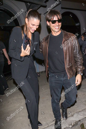 Editorial image of Niia Bertino out and about, Los Angeles, USA - 01 Apr 2019