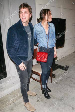 Stock Picture of Rob Thomas and Marisol Thomas at Craig's restaurant