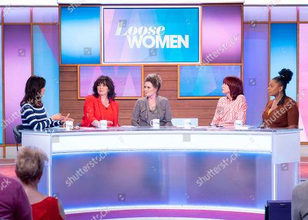 Andrea McLean, Coleen Nolan, Beverley Callard, Janet Street-Porter and Brenda Edwards