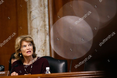 Sen. Lisa Murkowski, R-Alaska, chairwoman of the Senate Energy and Natural Resources Committee, speaks during a hearing with Energy Secretary Rick Perry on the President's budget request for Fiscal Year 2020, on Capitol Hill in Washington