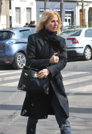 Editorial picture of Agnes Varda Funeral, Montparnasse Cemetery, Paris, France - 02 Apr 2019