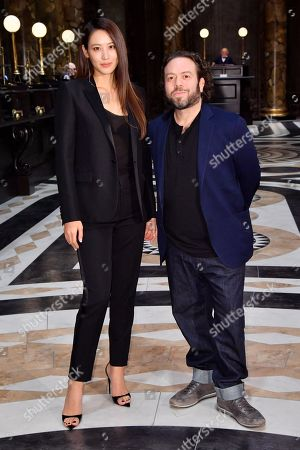 Claudia Kim and Dan Fogler