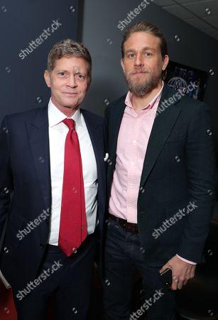 Robert Simonds, Chairman and CEO of STX Entertainment, Charlie Hunnam
