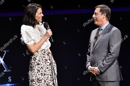 Katie Holmes and Adam Fogelson