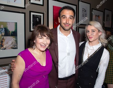 Editorial photo of 'Ladies Who Punch' book launch, New York, USA - 01 Apr 2019