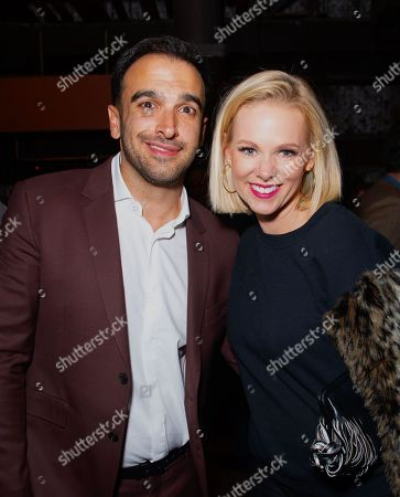 Stock Picture of Ramin Setoodeh, Margaret Hoover