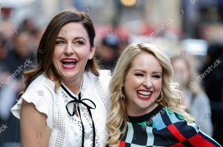 Stock Photo of Kristin Hensley and Jen Smedley