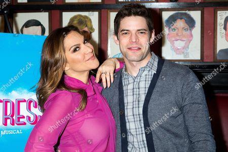 Shoshana Bean and Jeremy Jordan