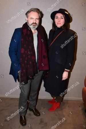 Editorial image of 'Curiosa' film premiere, Arrivals, Paris, France - 02 Apr 2019