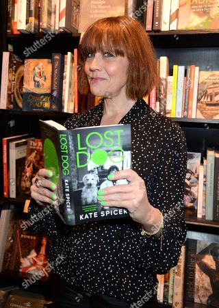 Editorial image of Kate Spicer 'Lost Dog' Book Party and Dinner at Hatchards and Micks Cafe, London, UK - 02 Apr 2019