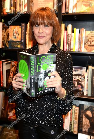 Editorial photo of Kate Spicer 'Lost Dog' Book Party and Dinner at Hatchards and Micks Cafe, London, UK - 02 Apr 2019