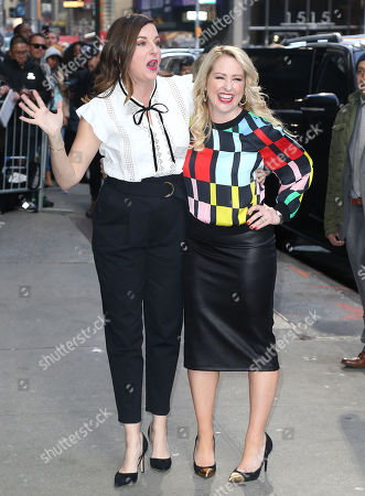 Editorial image of 'Good Morning America' TV show, New York, USA - 02 Apr 2019