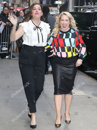 Editorial picture of 'Good Morning America' TV show, New York, USA - 02 Apr 2019