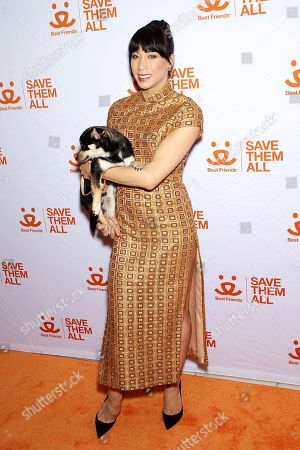 Editorial picture of Animal Society Best Friends Benefit,  New York, USA - 02 Apr 2019